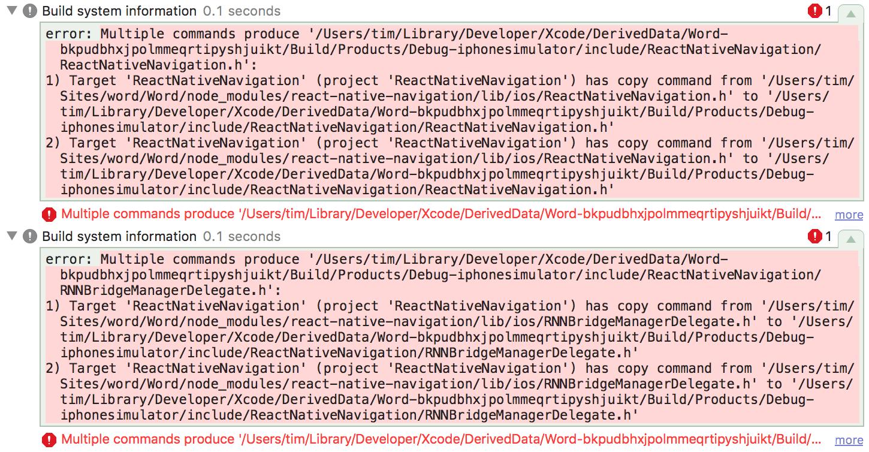 V2] Build error in Xcode 10