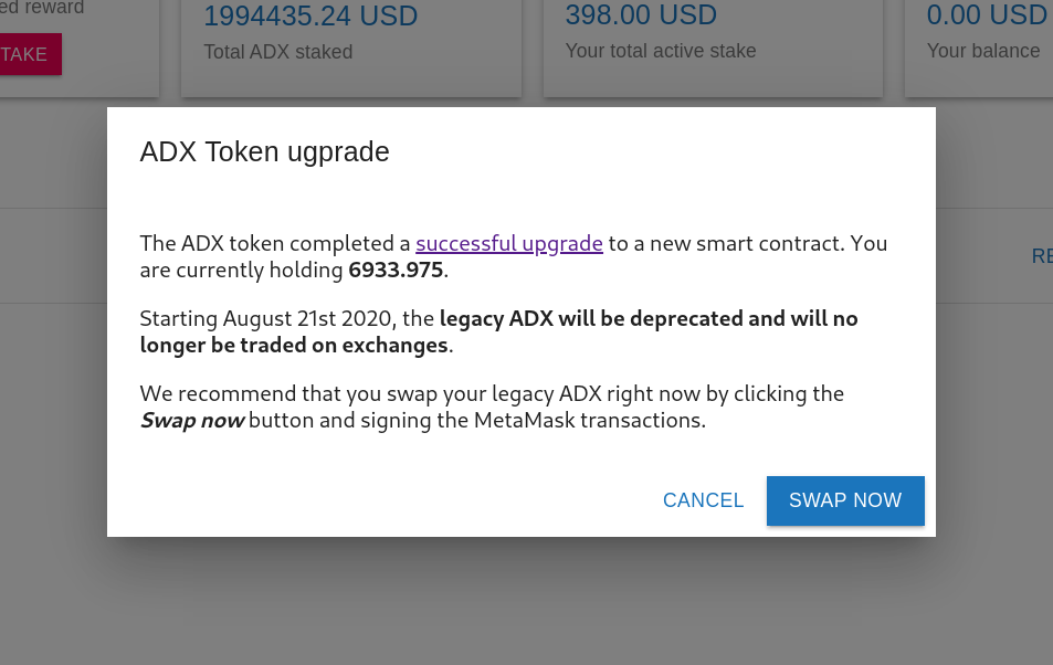 staking adex network_