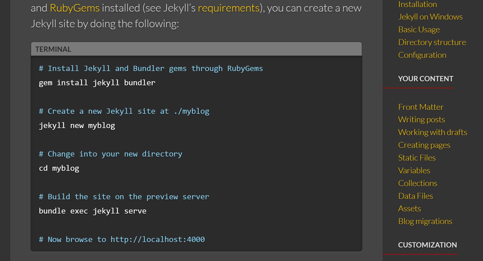 jekyllrb com_docs_quickstart