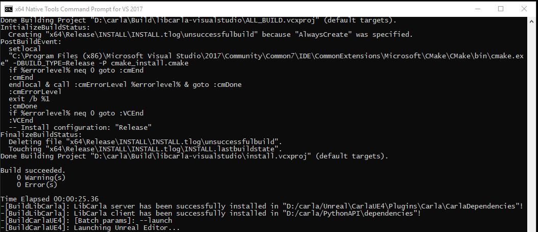 Building on Windows 0 9 X · Issue #647 · carla-simulator
