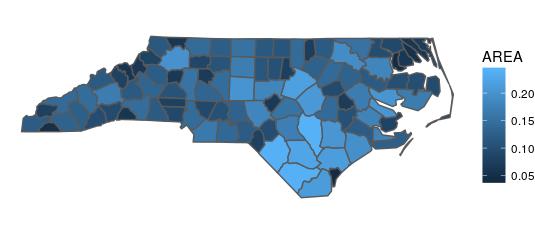 North Carolina no graticule