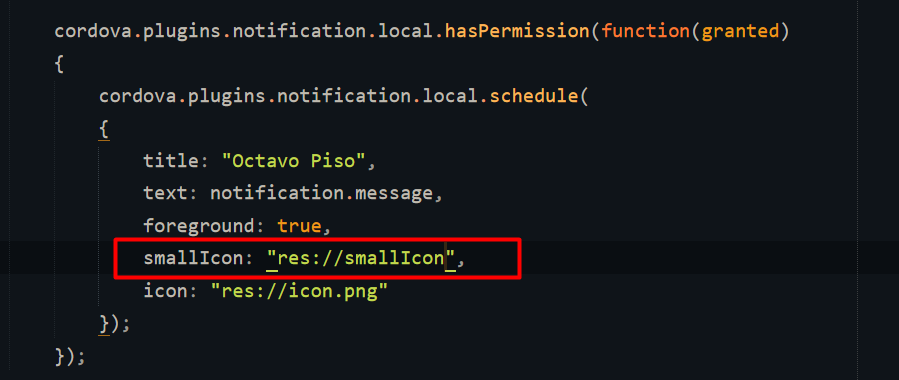 Setting the small_icon: any guides? · Issue #1644 · katzer