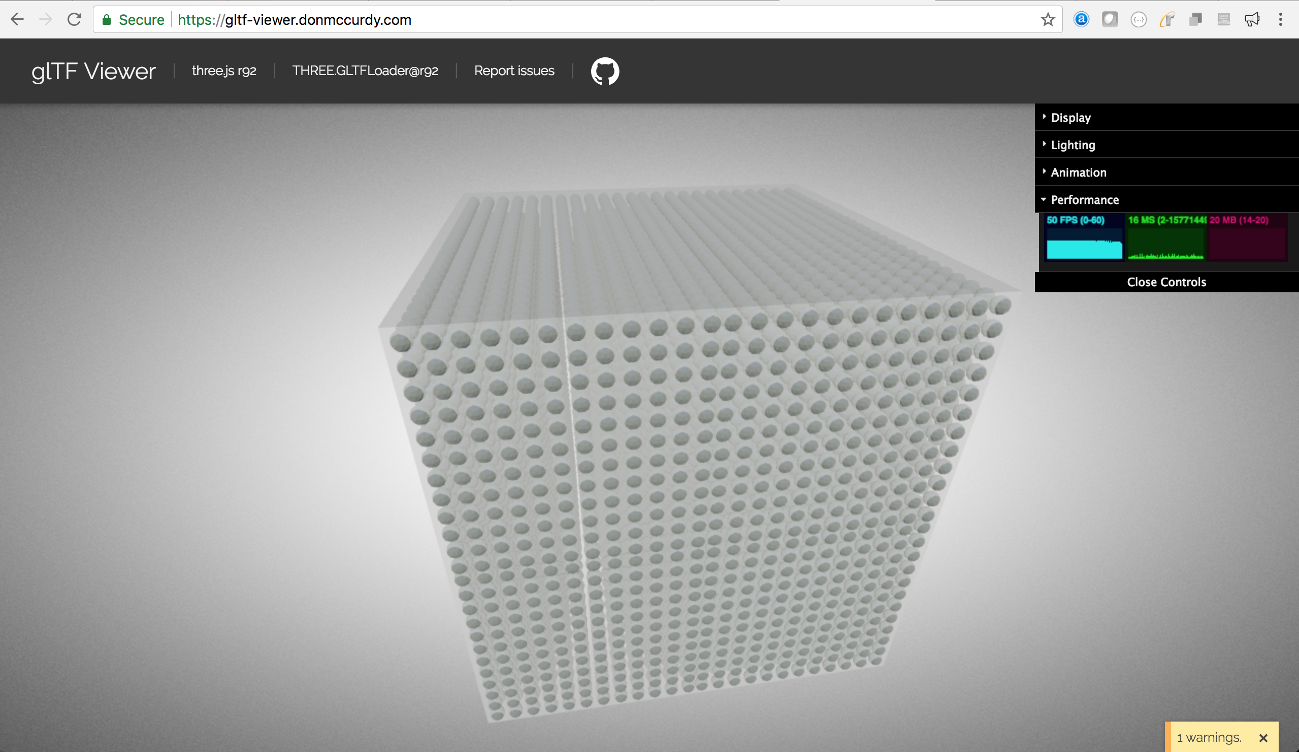 Same mesh repeated, Instancing support? · Issue #203