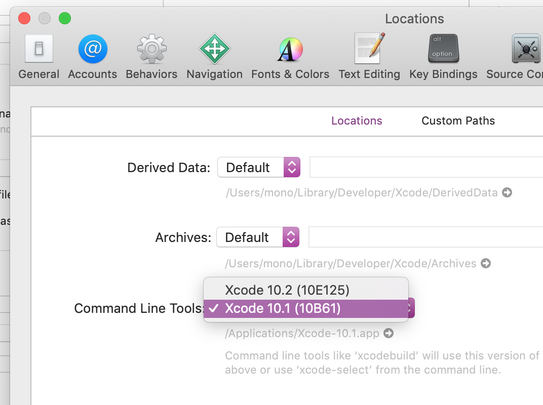 Build fails on Xcode 10 2(Swift 5 0) · Issue #102 · mono0926