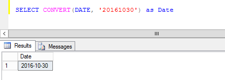 convert a string to a date type