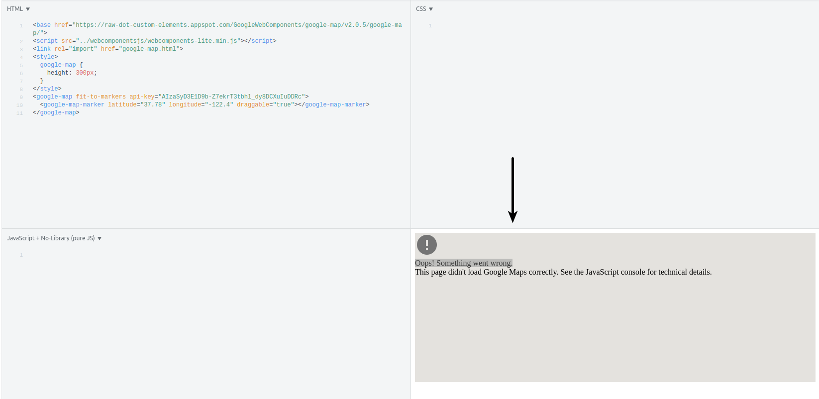 How to import html for Google maps webcomponent · Issue ...