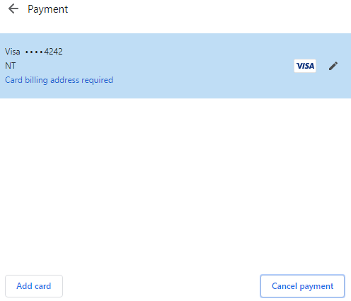 Request Payment button does not show up · Issue #28 · stripe/stripe