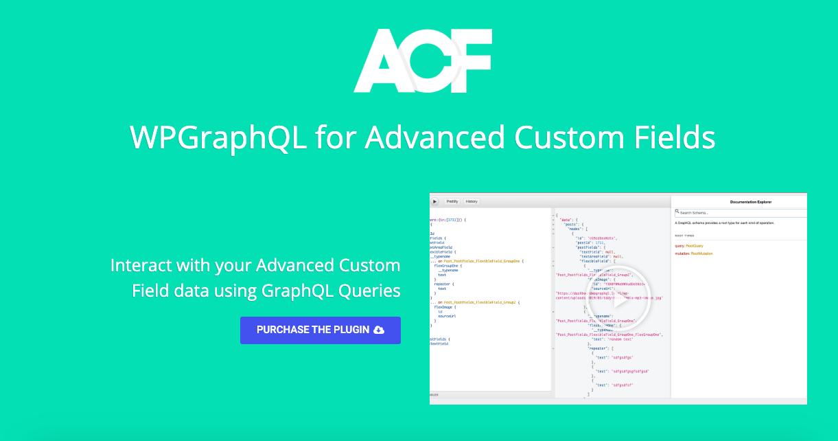 Advanced Custom Fields Support · Issue #214 · wp-graphql/wp