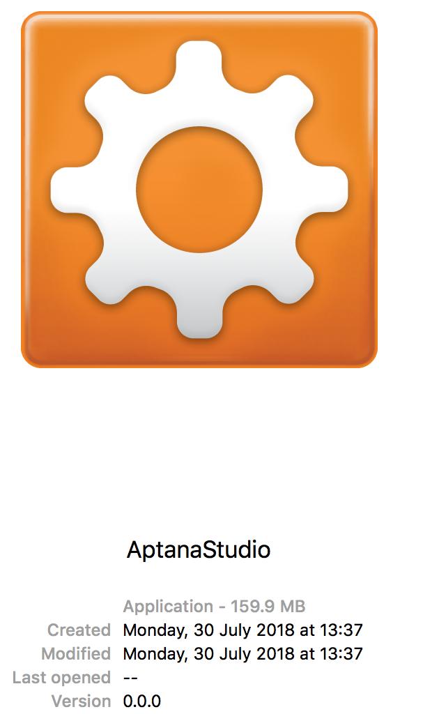 version numbers broken on macOS · Issue #486 · aptana