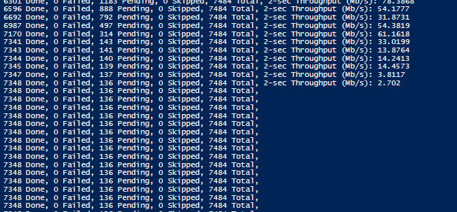 V10 0 7 azcopy sync takes a long time to copy last few files