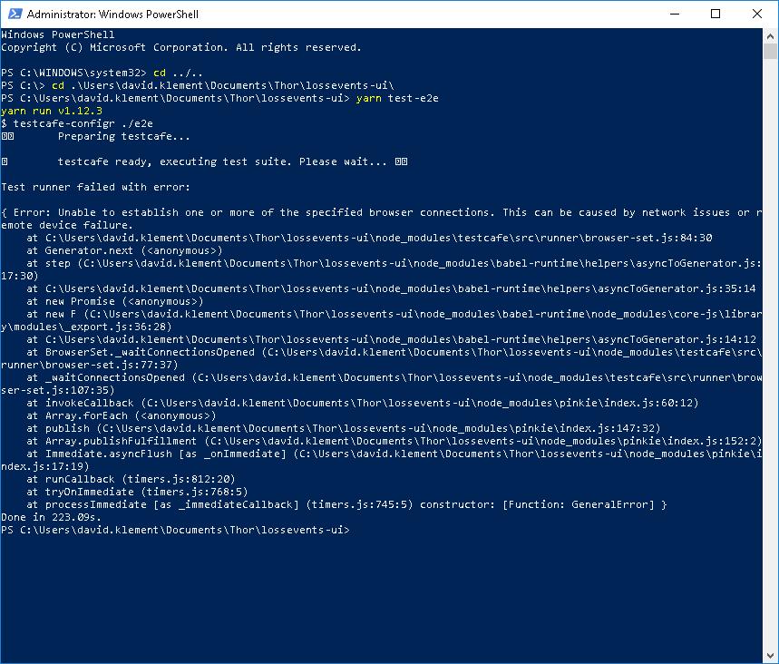 testcafe 0 23 3 broken on windows 10 · Issue #3283 · DevExpress