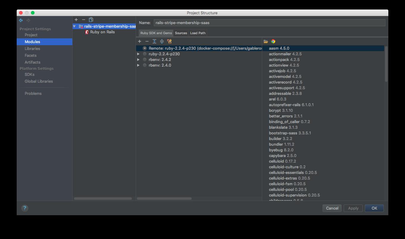 Unable to run tests inside docker with Intellij IDEA (works