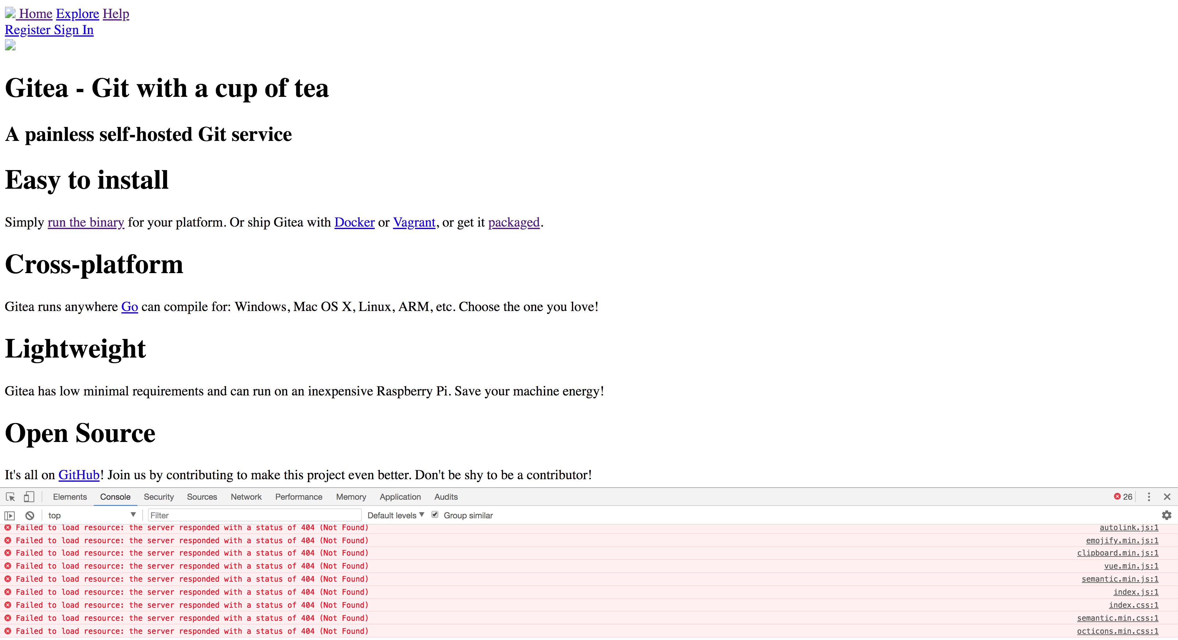 UI Breaks with Nginx proxy_pass · Issue #4046 · go-gitea