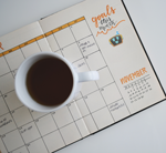 Slack calendar coffee