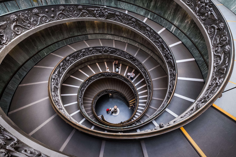 spiral steps recurring event