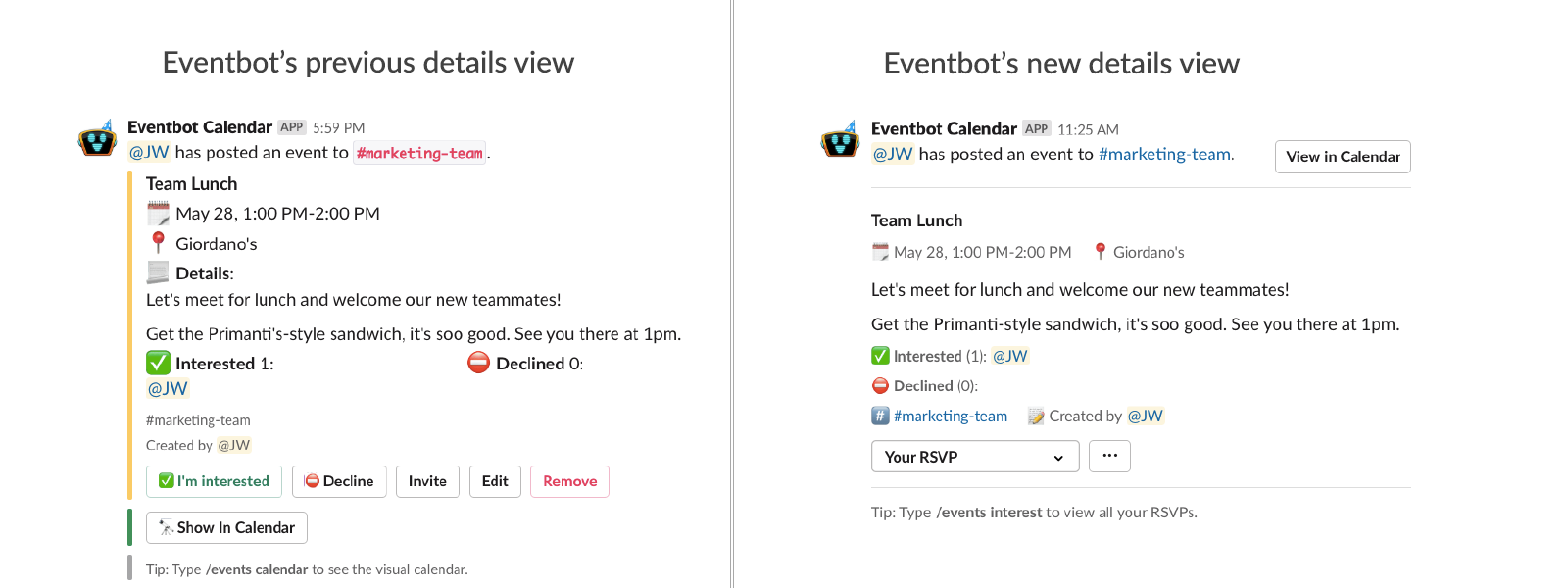 A fresh new look for events | Eventbot Blog