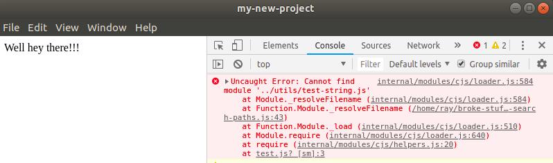 Uncaught Error: Cannot find module 'electron-compile/lib