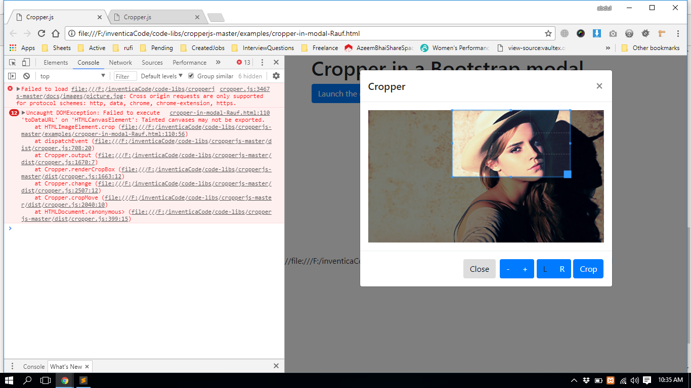 Get Cropped image · Issue #359 · fengyuanchen/cropper · GitHub