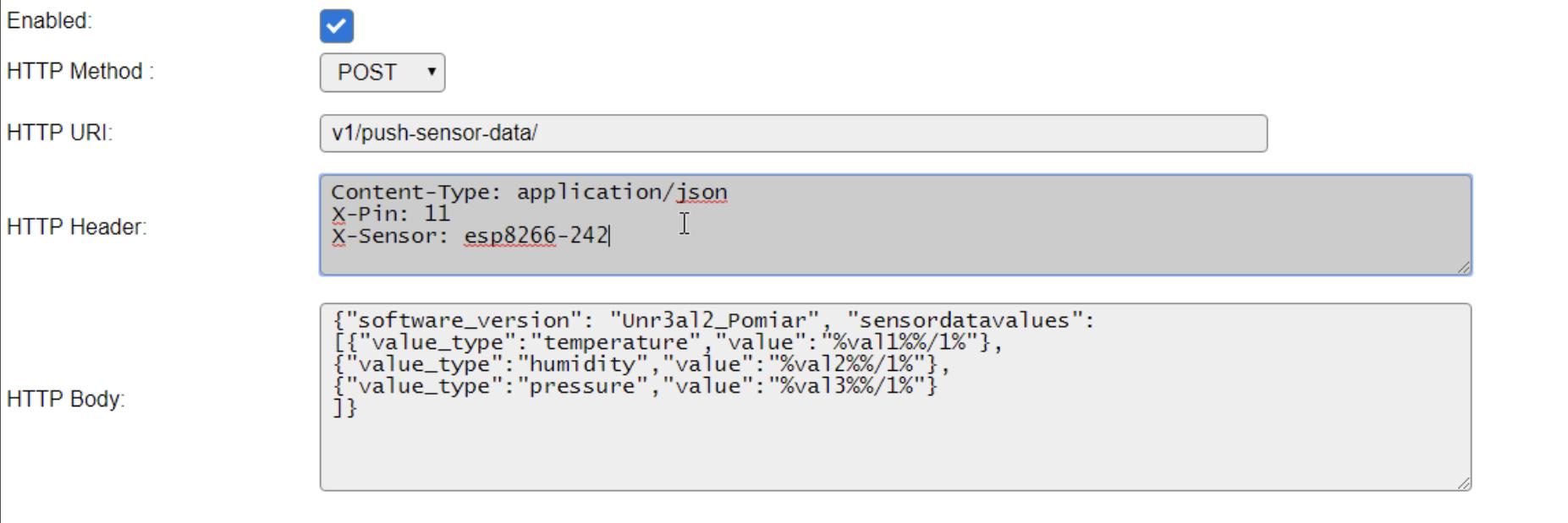 Fix: HTTP Header broken in 'Generic HTTP Advanced