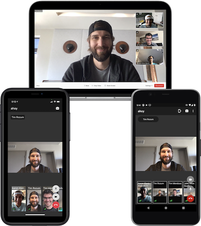 Github Twilio Twilio Video App Android A Collaboration Application Built With The Twilio Video Android Sdk
