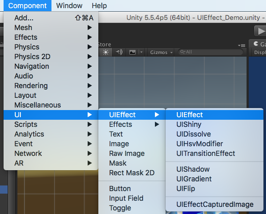GitHub - mob-sakai/UIEffect: UIEffect is an effect component for