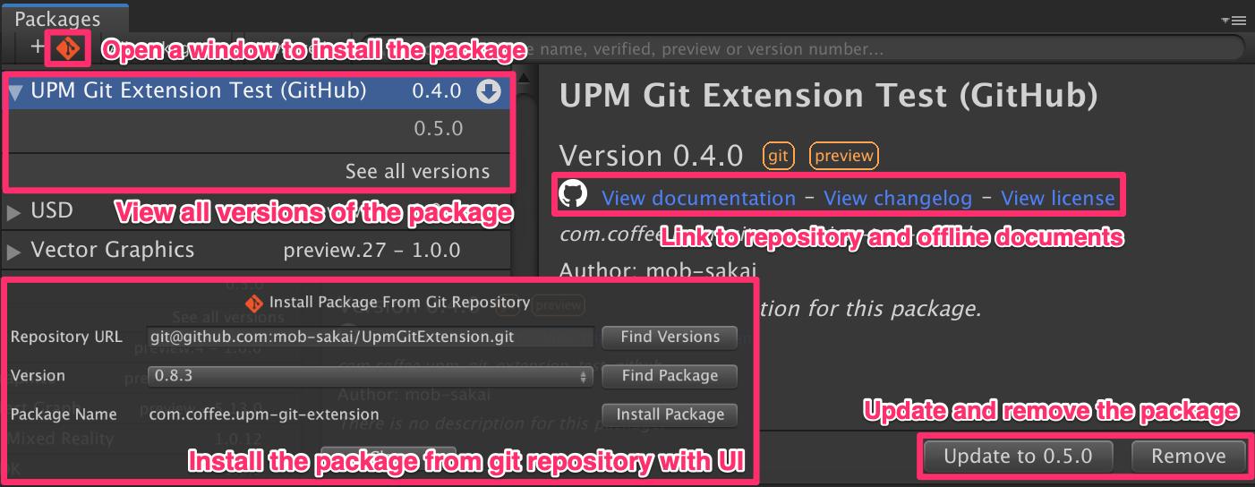 Unity Source Git