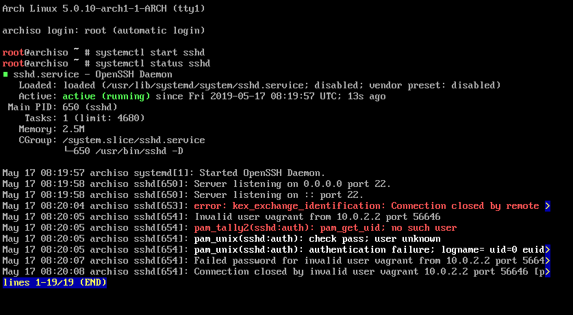 stuck at Waiting for SSH to become available    · Issue #39