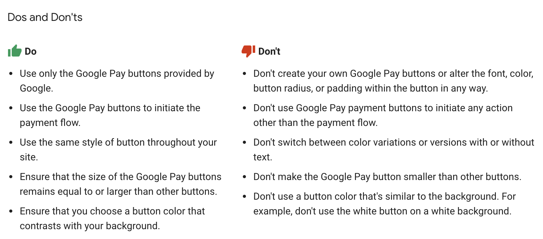 Google brand guidelines · Issue #46 · stripe/stripe-payments