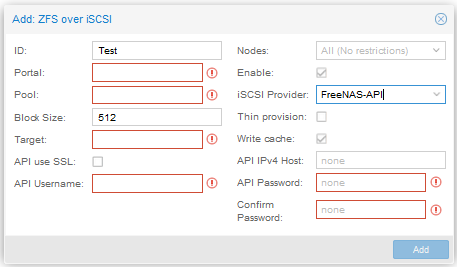 VM Moved to FreeNAS Only Boots to UEFI Shell · Issue #33