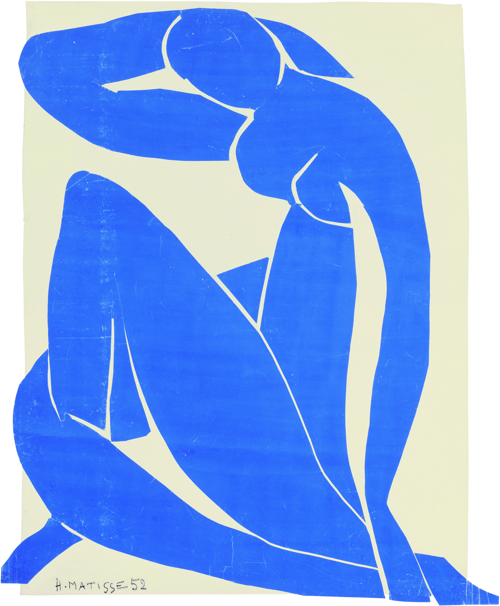 Henri Matisse. Blue Nude II. 1952