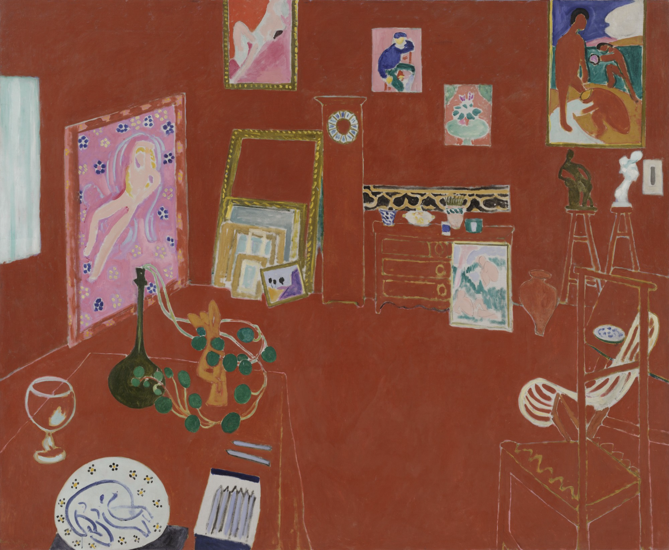 Henri Matisse. The Red Studio. Issy-les-Moulineaux, fall 1911 | MoMA