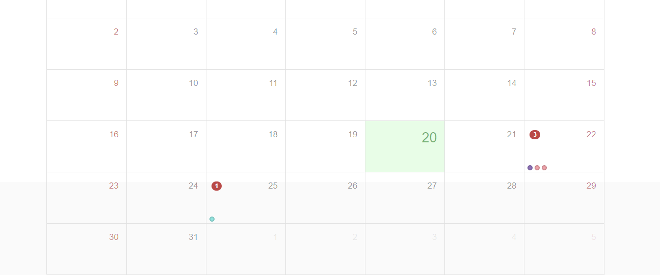 Group Multiple Events Into One In Month View And Multiple Day Event