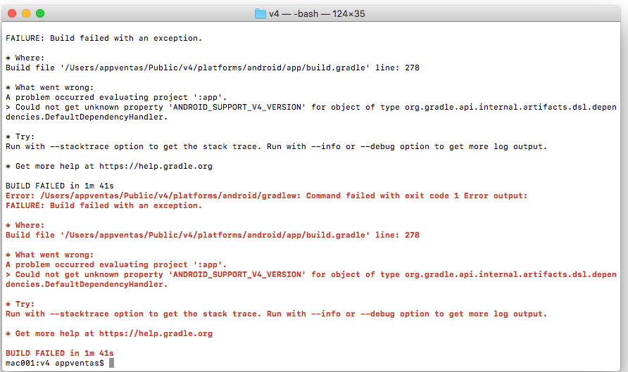Android build failed for cordova-plugin-file-opener2 giving