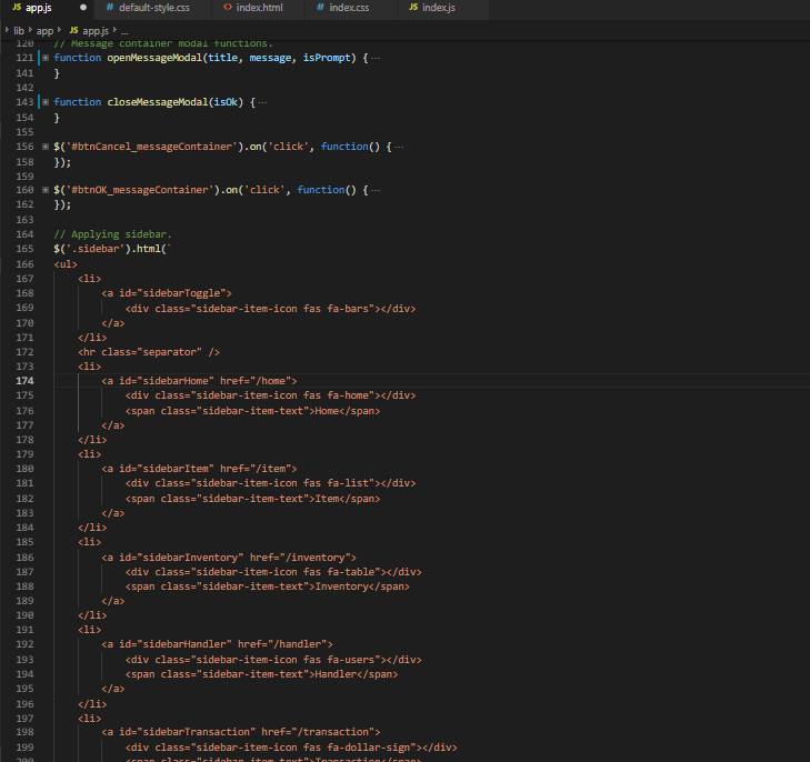 Javascript Multiline String Hide (or Collapse) · Issue