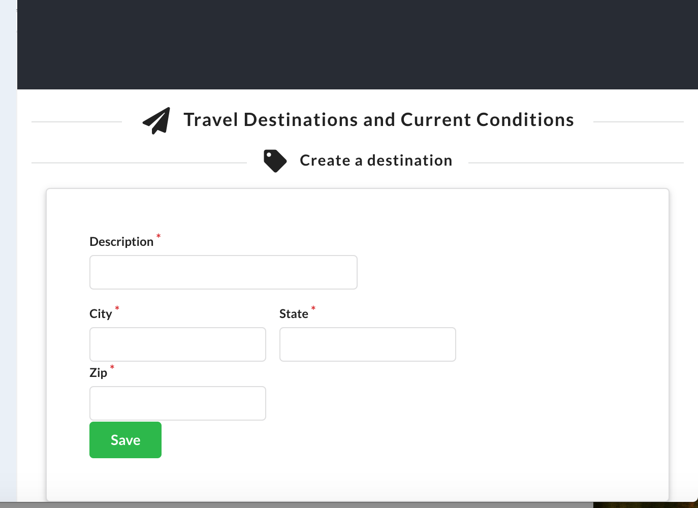 All destinations do not display · Issue #5 · aws-samples/aws