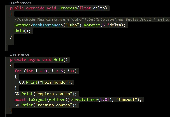 Use coroutines in Godot as in UNITY3D Example CODE GITHUB · Issue