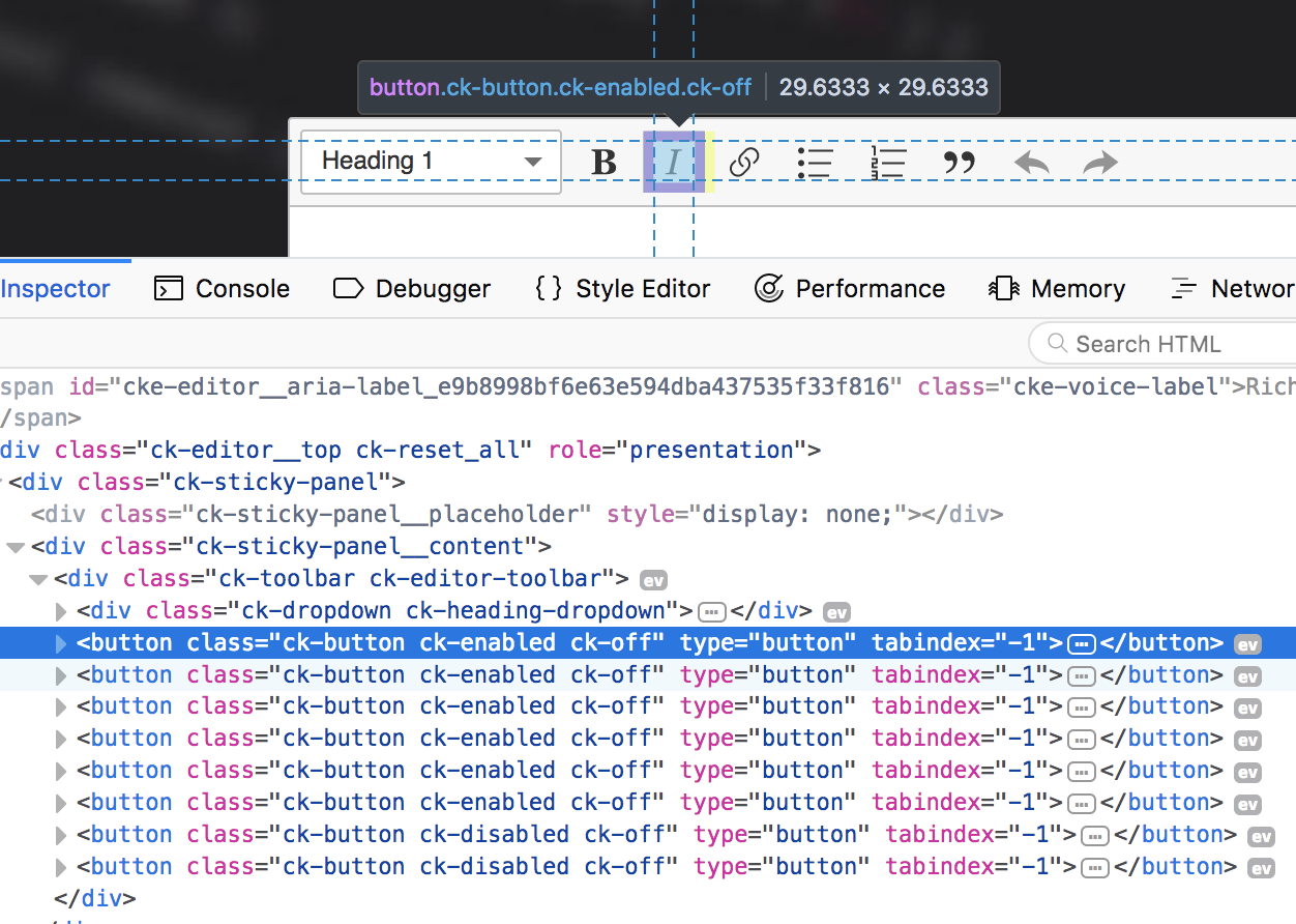 Provide a custom class for each button · Issue #59 · ckeditor