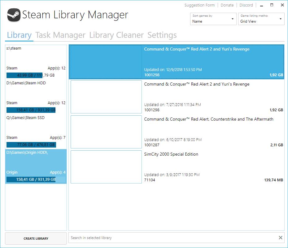 Startup Error · Issue #31 · RevoLand/Steam-Library-Manager