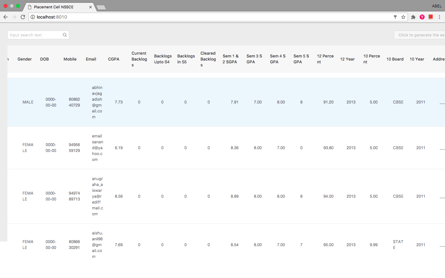 Table Column Width Breaking in chrome browser · Issue #6992