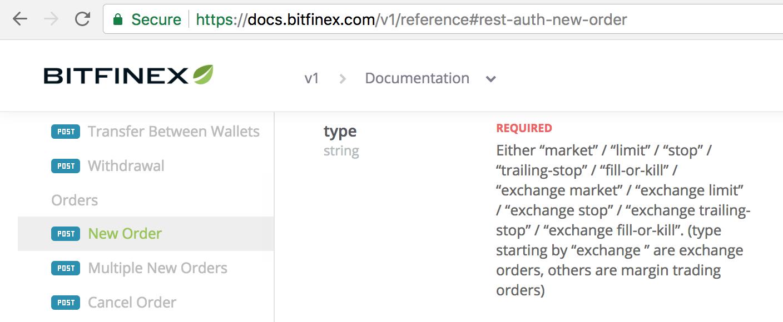 Bitfinex margin trading · Issue #1207 · ccxt/ccxt · GitHub