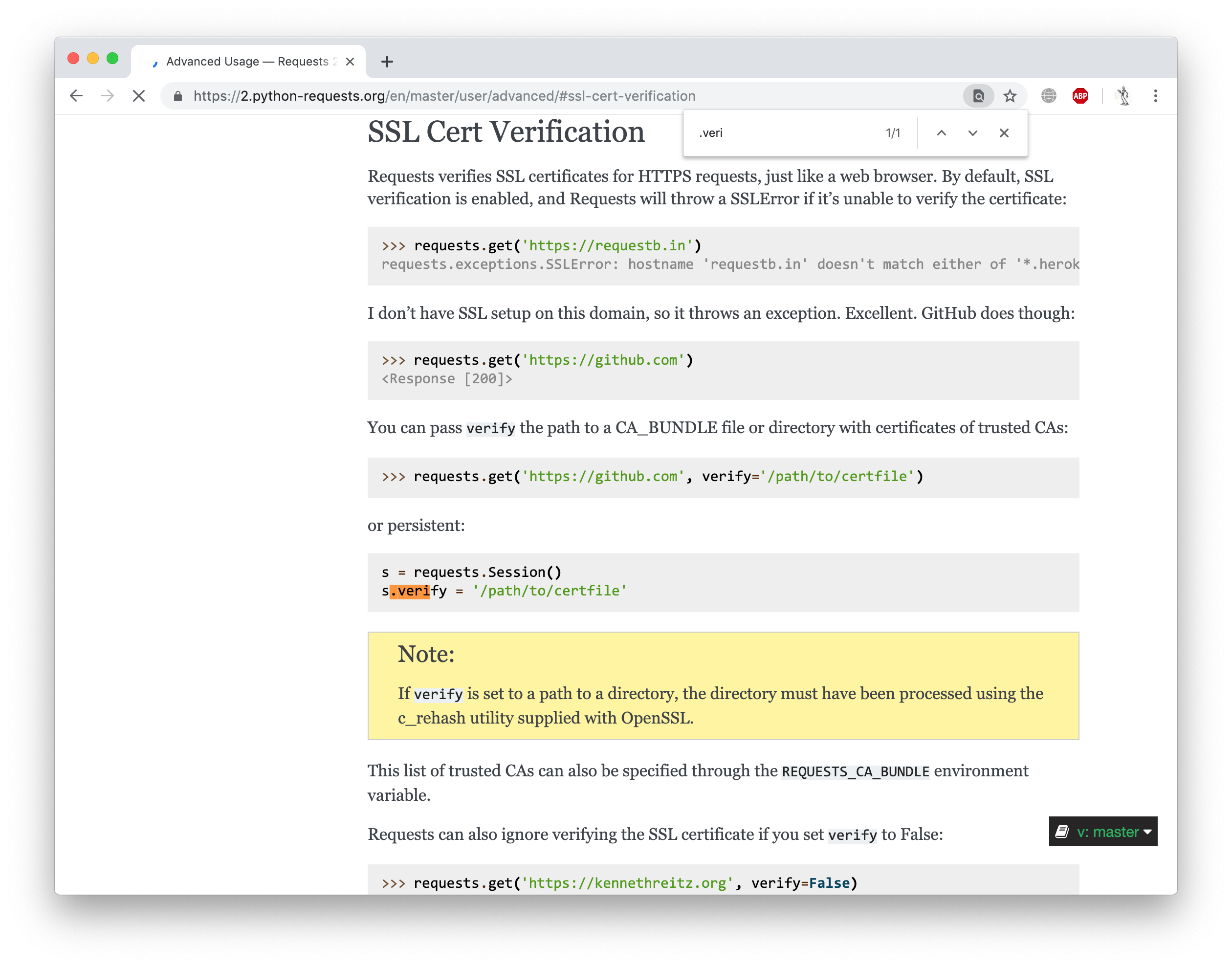 How to disable SSL certificate verification in Python