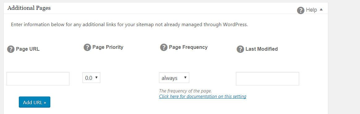 sitemap xml additional pages break with no date entered issue 940