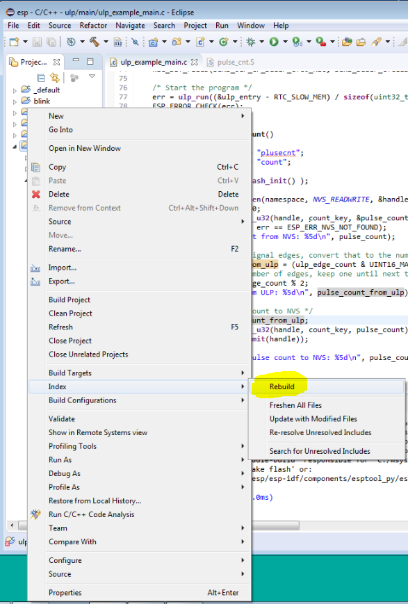 Eclipse on Windows shows Errors due to failing to find all header