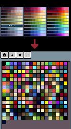 aseprite palettes