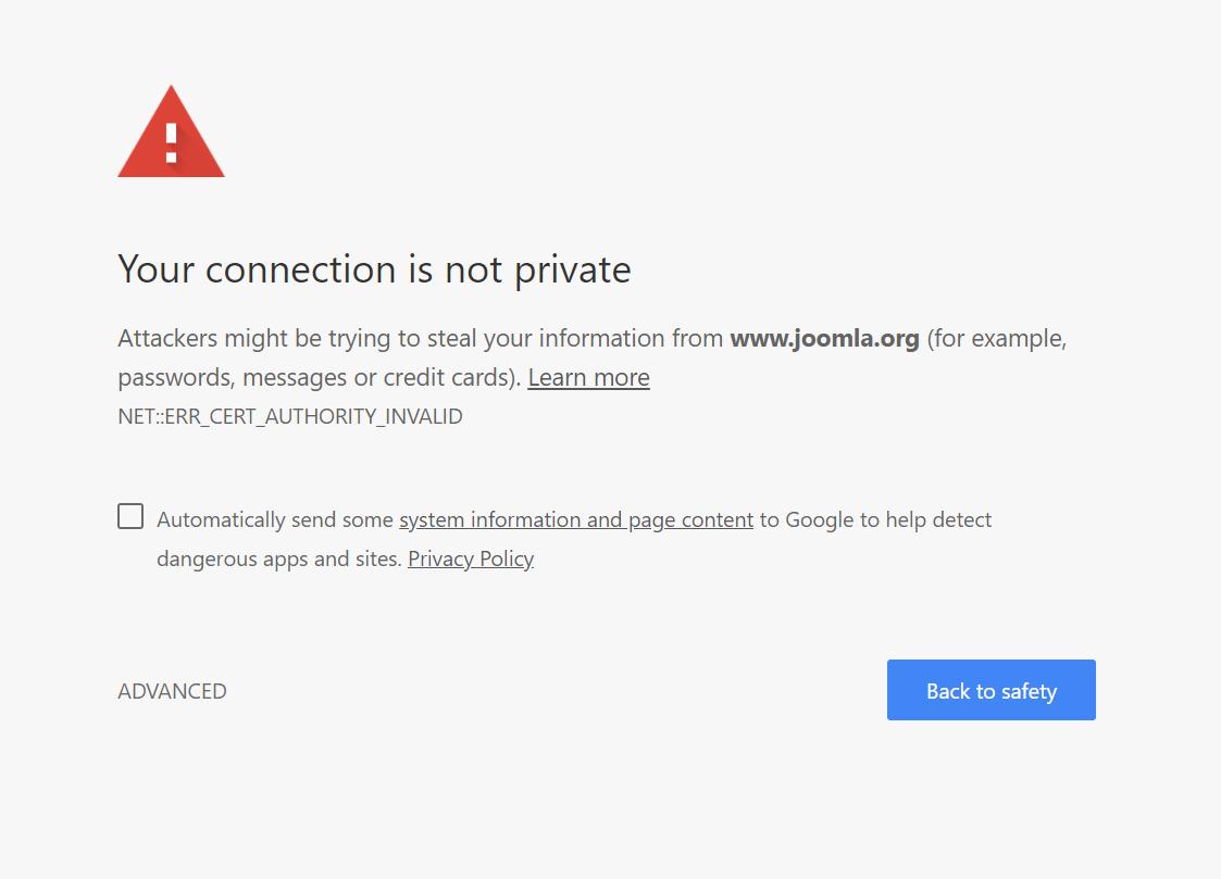 Ssl certificate deadline issue 1097 joomlajoomla websites screenshotr22 26 57 1betcityfo Image collections