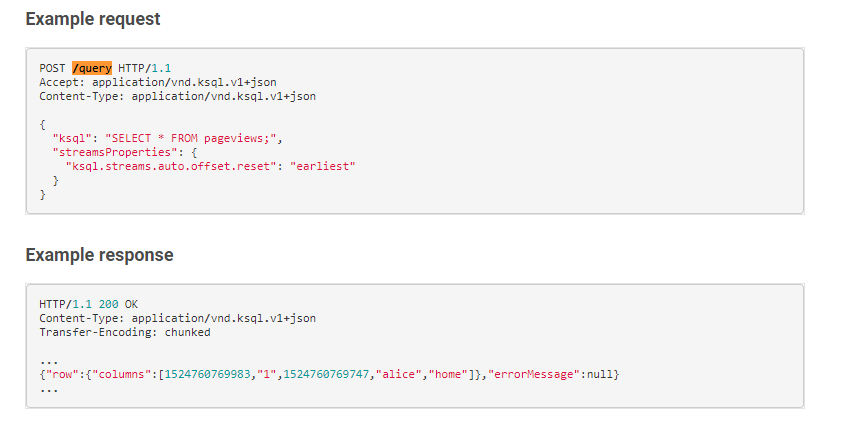 HTTP 415 Unsupported Media Type when requesting restful api's /query