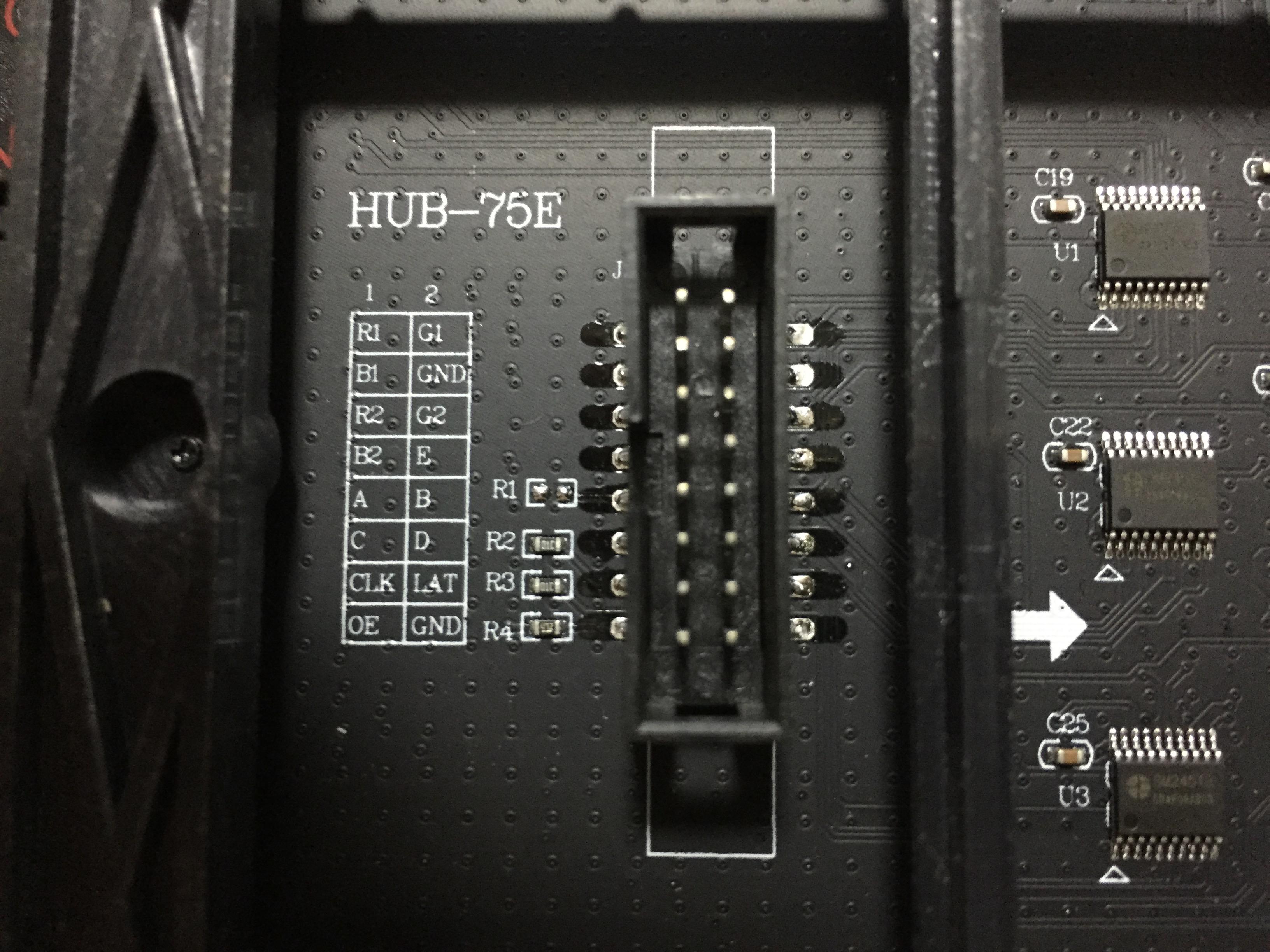 64x64 P2 5 LED panels · Issue #120 · hzeller/rpi-rgb-led-matrix · GitHub