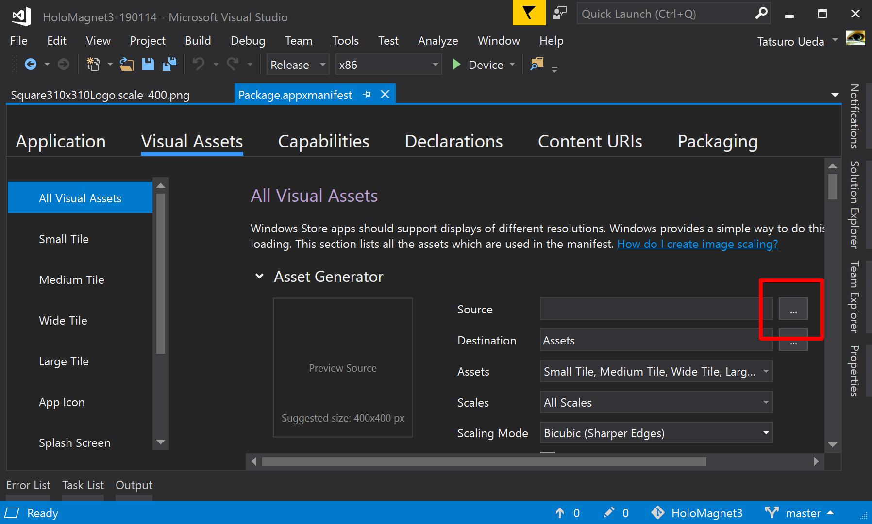 HoloMagnet3-190114 - Microsoft Visual Studio 2019-05-20 10 24 57