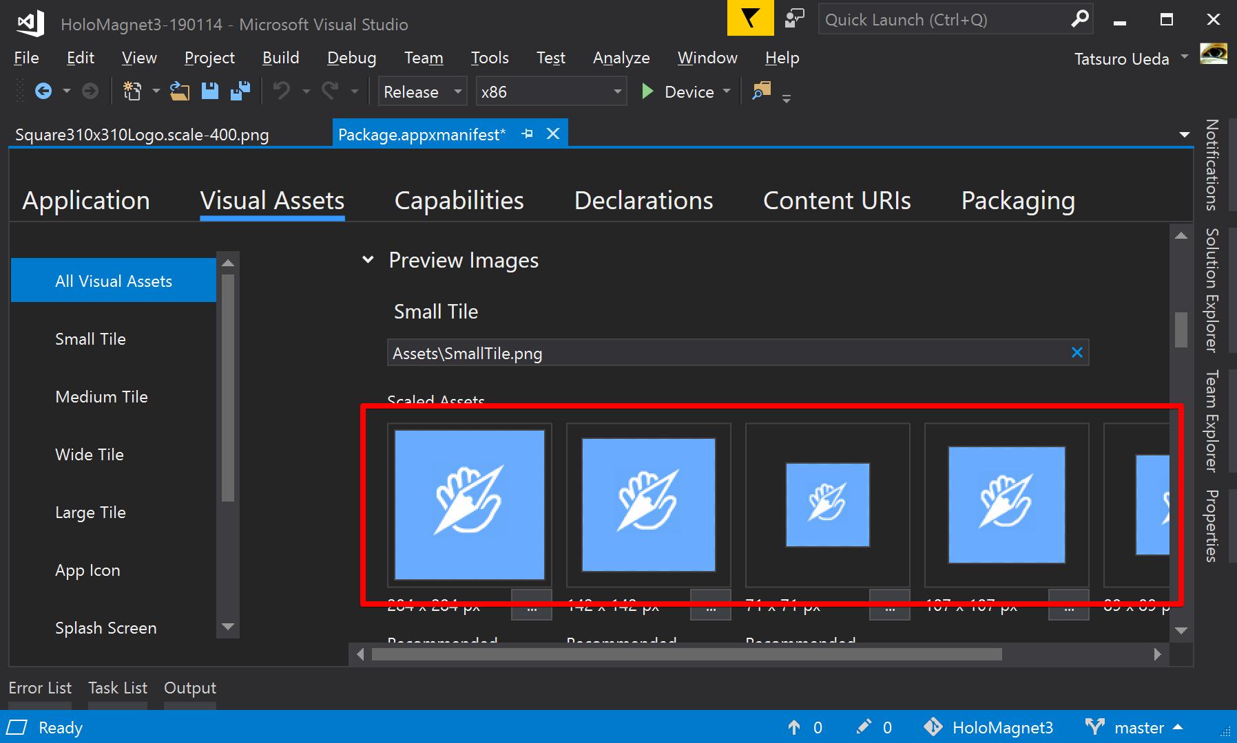 HoloMagnet3-190114 - Microsoft Visual Studio 2019-05-20 11 00 48