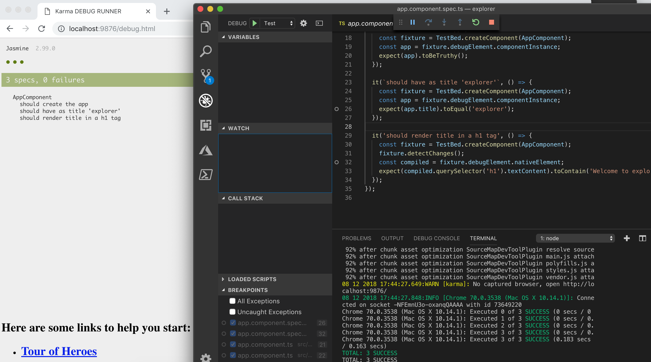 ng test: Debug with VS Code (Unverified Breakpoint) · Issue #13154